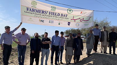 the farmer field day was a highlight of the tour