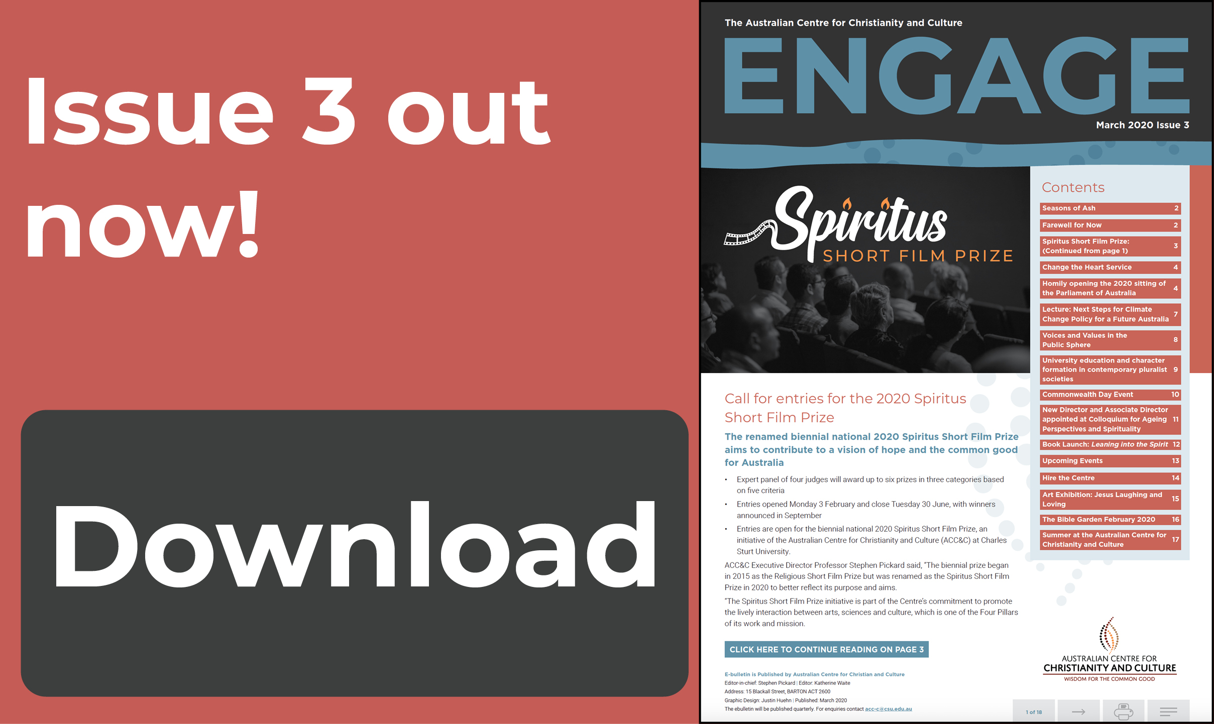Download Engage Issue 3