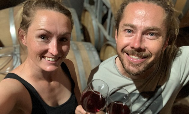 The perfect pairing: two Charles Sturt graduates are now co-owners of a boutique winery