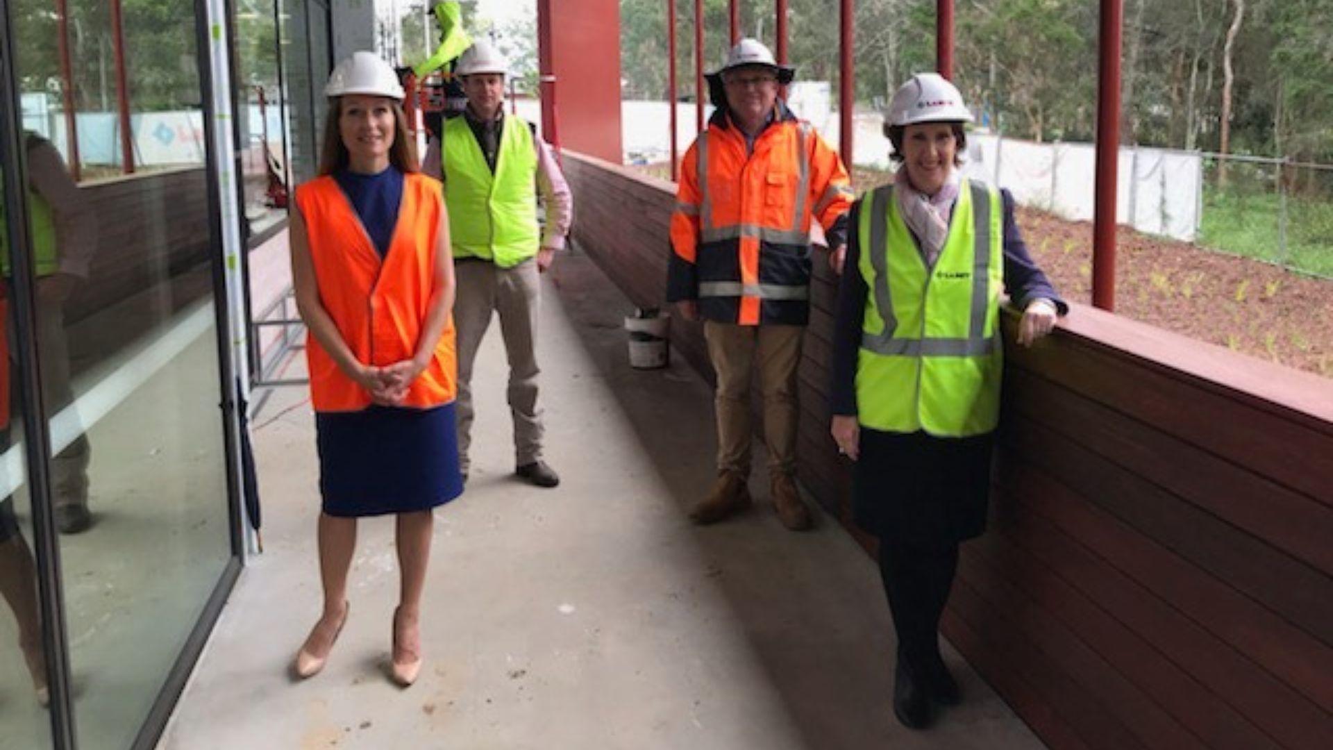 Progress on Stage 2 Development at Charles Sturt in Port Macquarie revealed