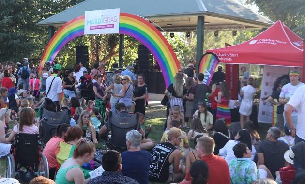 Charles Sturt renews sponsorship for Wagga Wagga Mardi Gras Festival