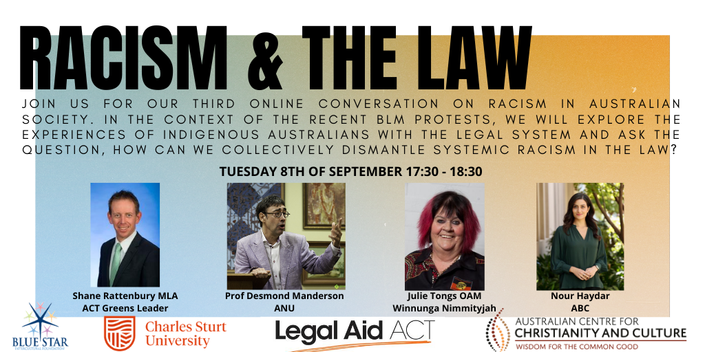 Racism & the Law Webinar now available on Youtube