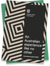Download our International student prospectus