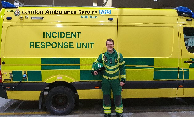 Top honour for paramedic with a passion for clinical leadership