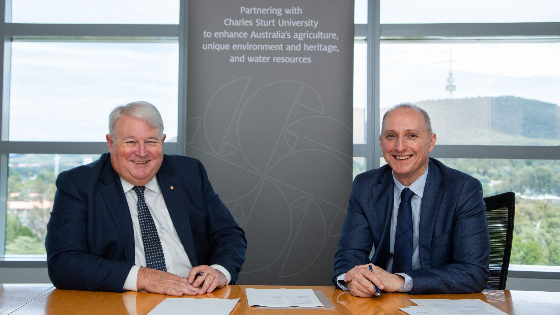 Agreement with Australian Government to enhance agriculture, water and environment