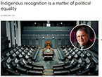 Indigenour recognition Prof Dominic O'Sullivan