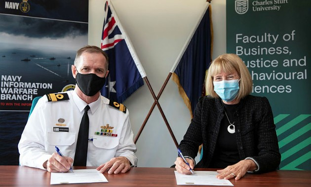 University commits to further education of Defence personnel