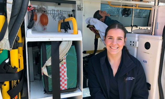 Student's paramedicine research could help save rural lives