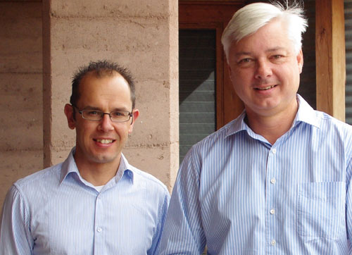 A/Prof Vaughan Higgins and A/Prof Andrew Rawson