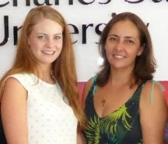 Sarah Verdon and Suzanne Hopf