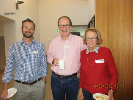 Ben Fahey, Neil McCarthy, Sue Campbell