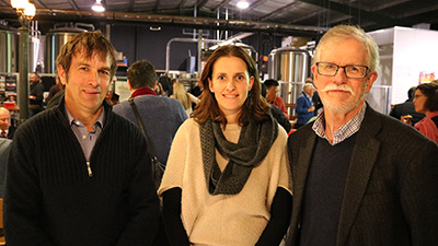 Professor Michael Friend, Associate Professor Jane Heller and Professor John Mawson