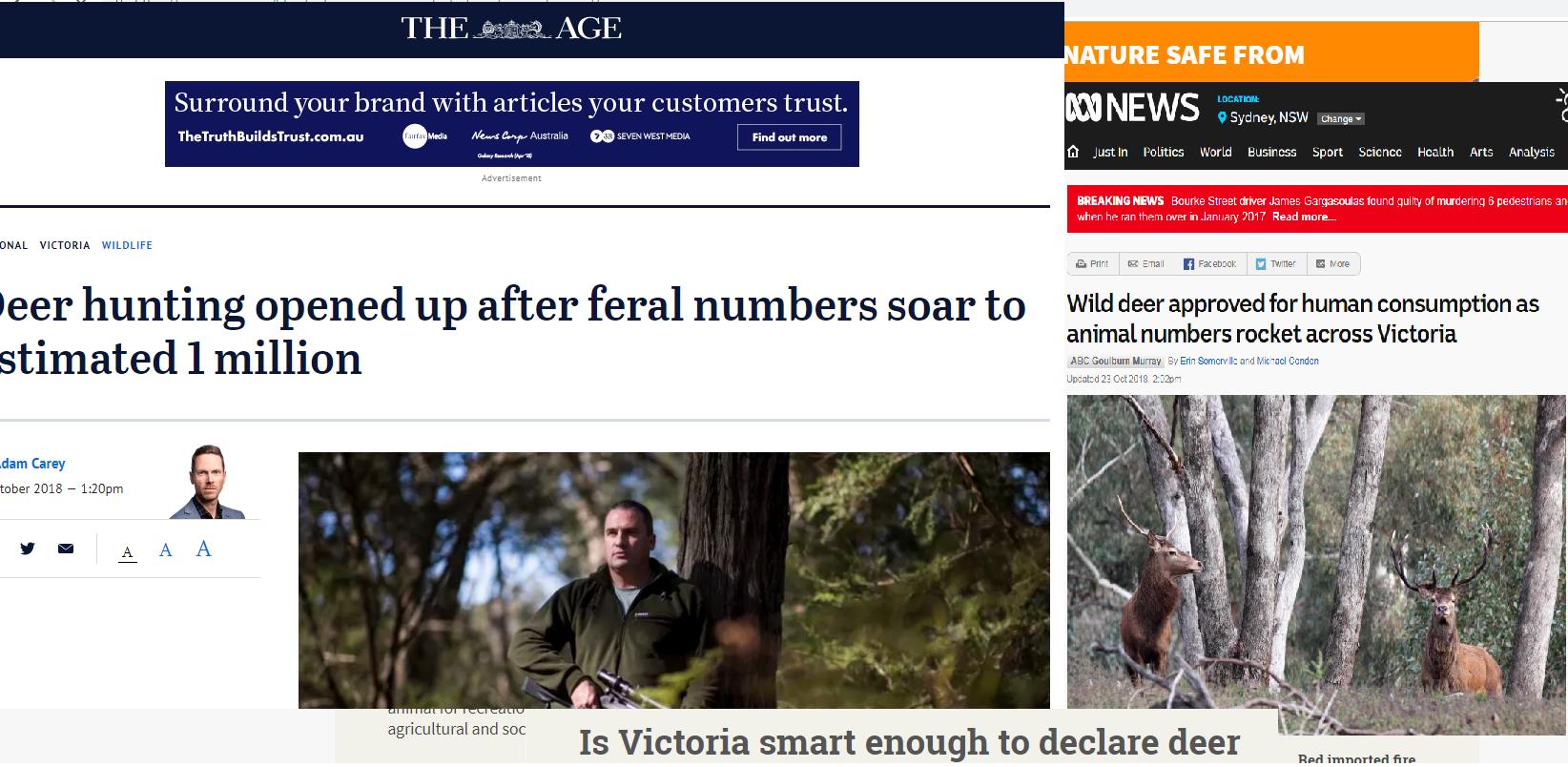 39d66a24ec3 Oh Deer - exploring the narratives of human-deer conflict in North Eastern  Victoria