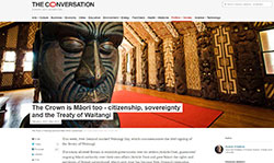 The Conversation - The crown is Maori too