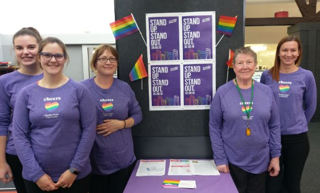 Charles Sturt students and staff host celebratory events for Wear It Purple Day