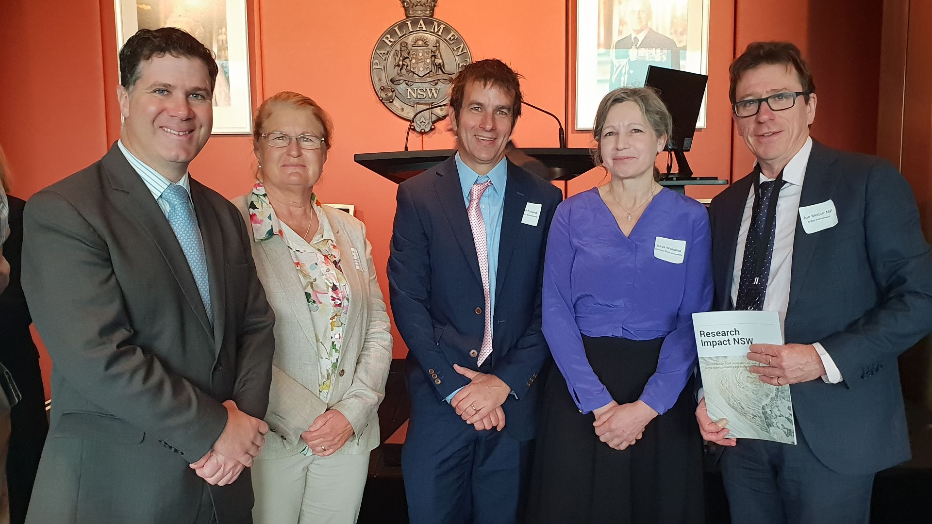 Charles Sturt research featured at inaugural showcase to Parliament