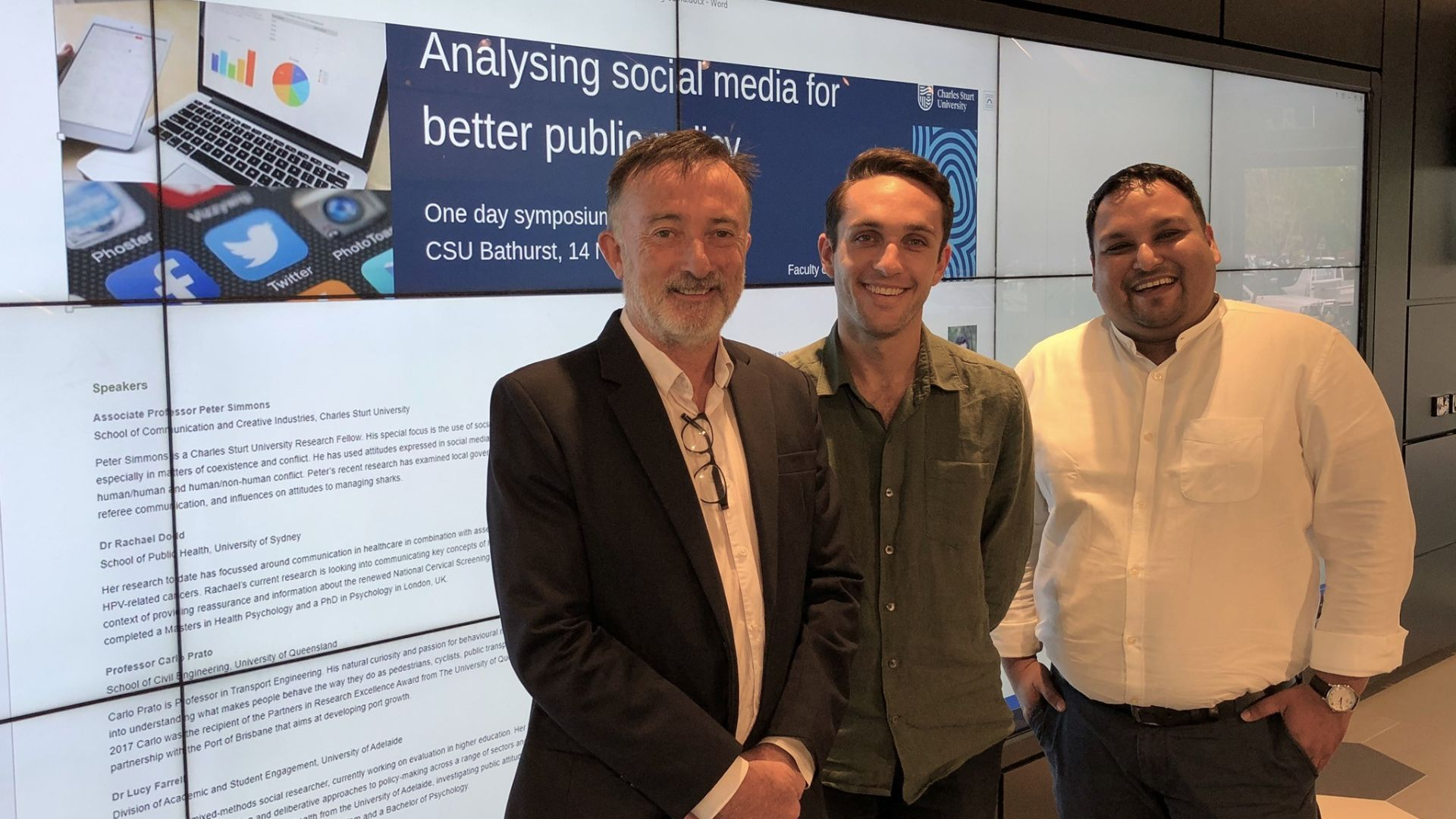 Forum to explore social media's potential uses in public policy