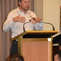 Andrew Ford from Anglicare. Photograph by Sarah Stitt