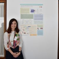 Poster Presenter Yuen Vennus Ho. Photograph by Sarah Stitt