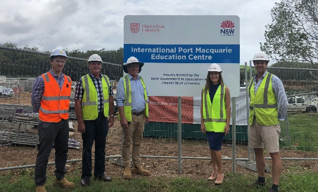 Contract awarded for Stage 2B Development at Charles Sturt in Port Macquarie