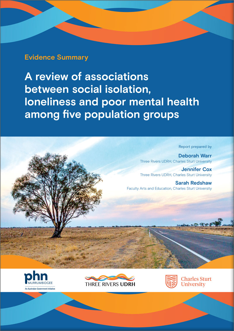 Download Associations between loneliness, social isolation and mental health and wellbeing