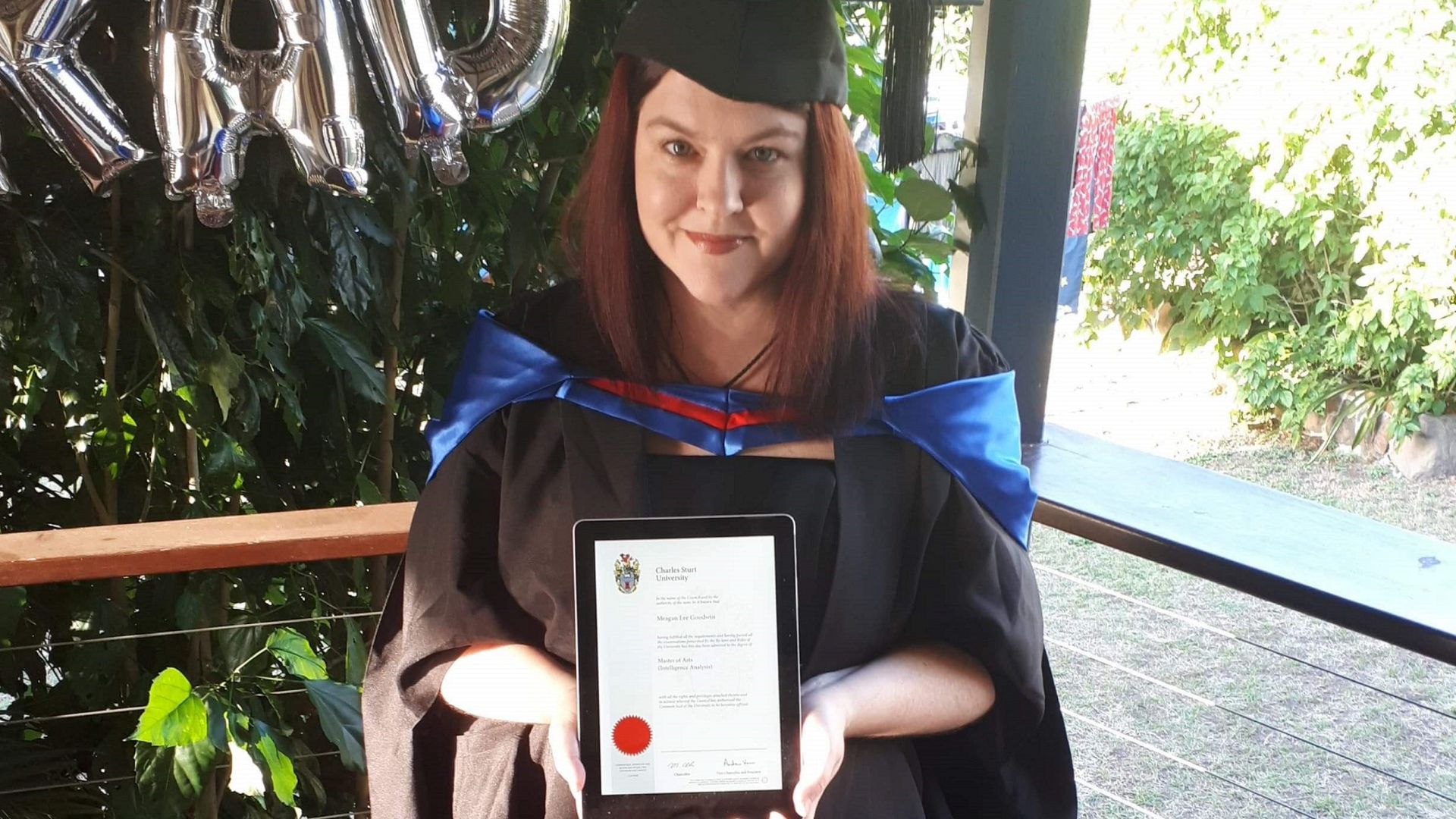 Young Intelligence Practitioner Award to Charles Sturt graduate