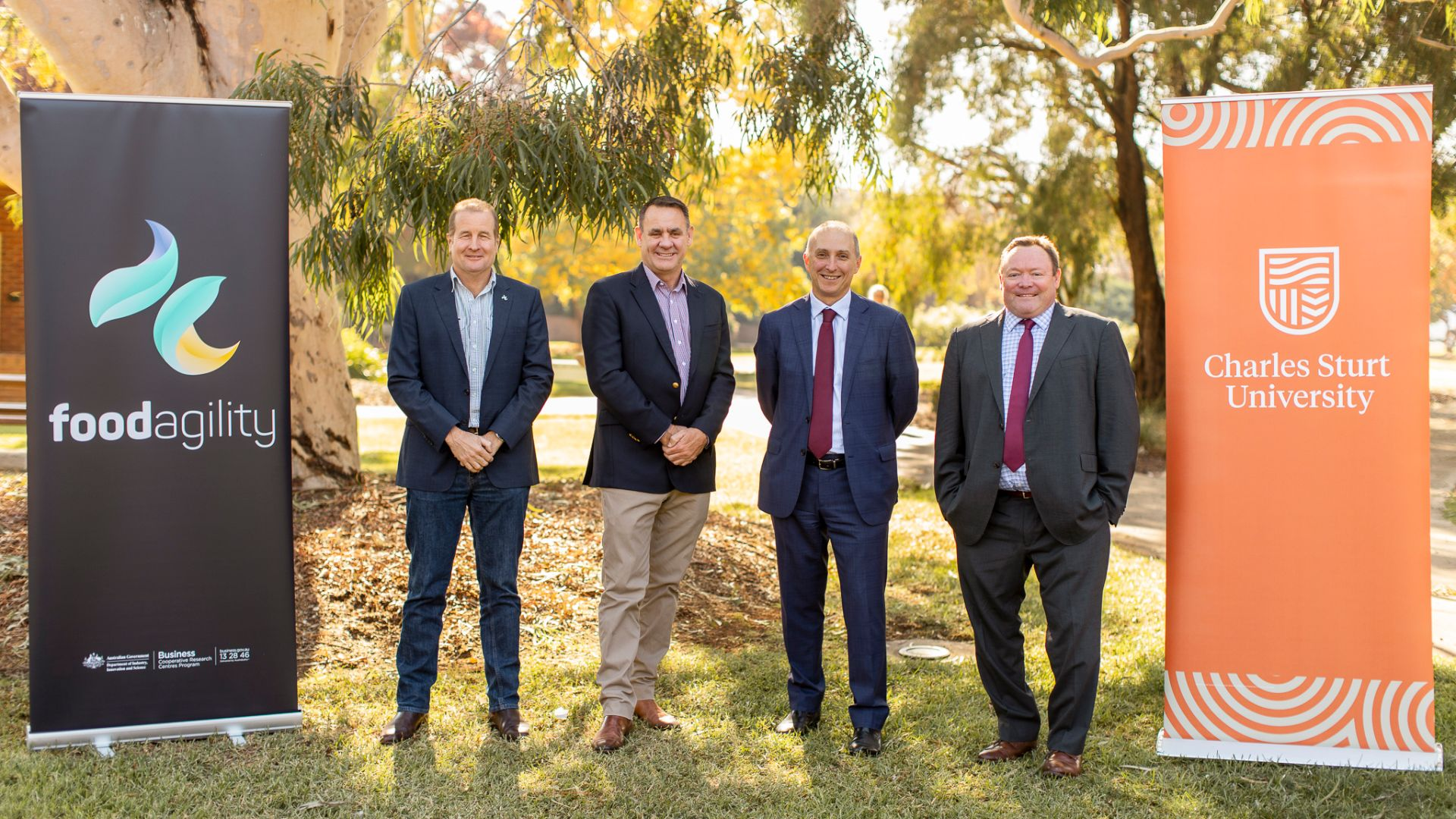 Look, hands-free: Australia's first fully-automated farm to be built at Charles Sturt in Wagga Wagga