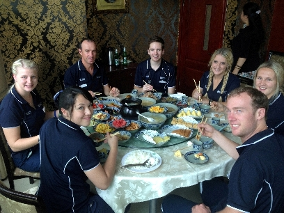 Paras China 2014_meal