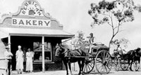 Bakery with horse & cart