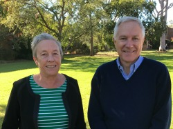 Adjunct Research Professor Deirdre Lemerle and Adjunct Associate Professor David Luckett from the Graham Centre
