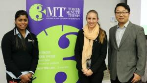 Photo of Ms Shiwangni Rao, Ms Cara Wilson and Mr Yuchi Chen