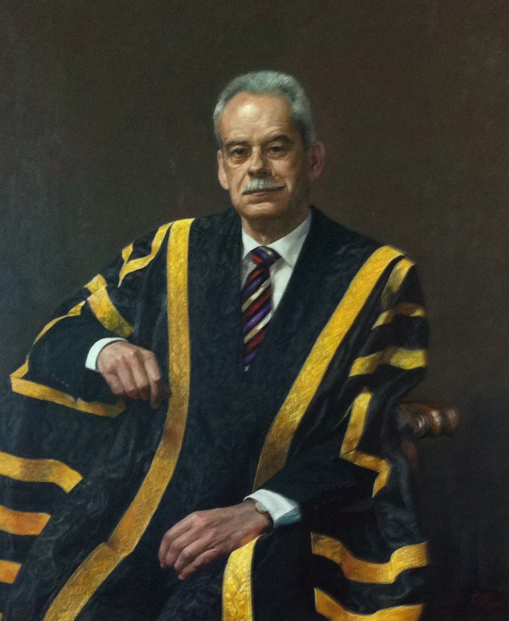 Portrait of Professor Ian Goulter by Jiawei Shen