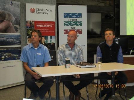 Glen Johnson, Matt Barwick and Lee Baumgartner