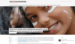 The Conversation - Indigenous Treaty