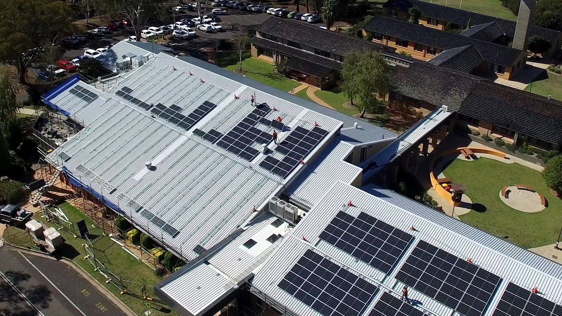 Solar panel expansion shines light on Charles Sturt commitment to sustainability