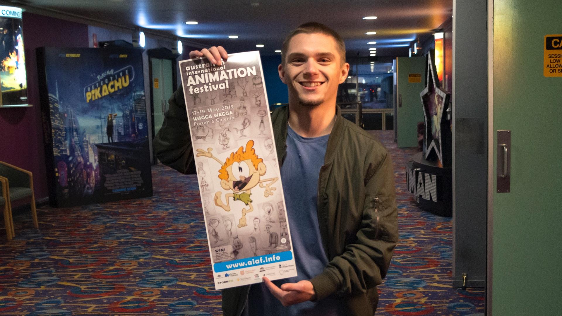 Charles Sturt University supports Australian International Animation Festival