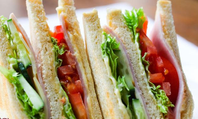 Sandwiches, wraps and rolls