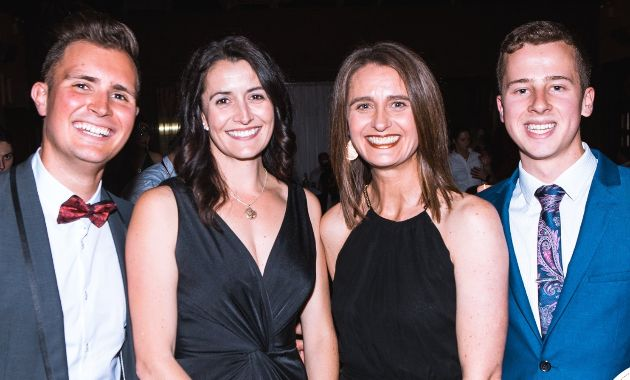 Charles Sturt Paramedicine students have a ball in fundraising efforts