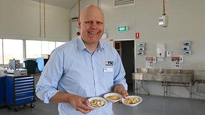 PhD student Stephen Cork