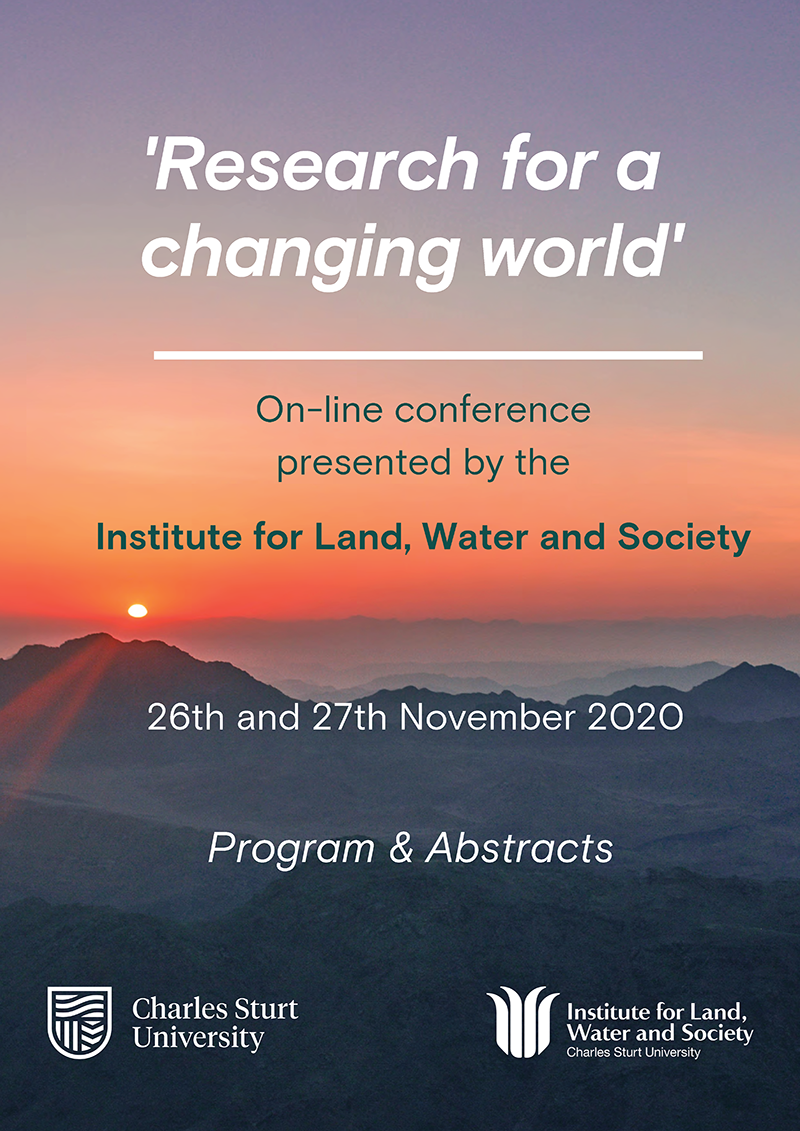 Conference program with abstracts