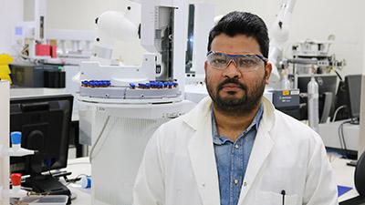 PhD student Mr Imtiaz Chowdhury