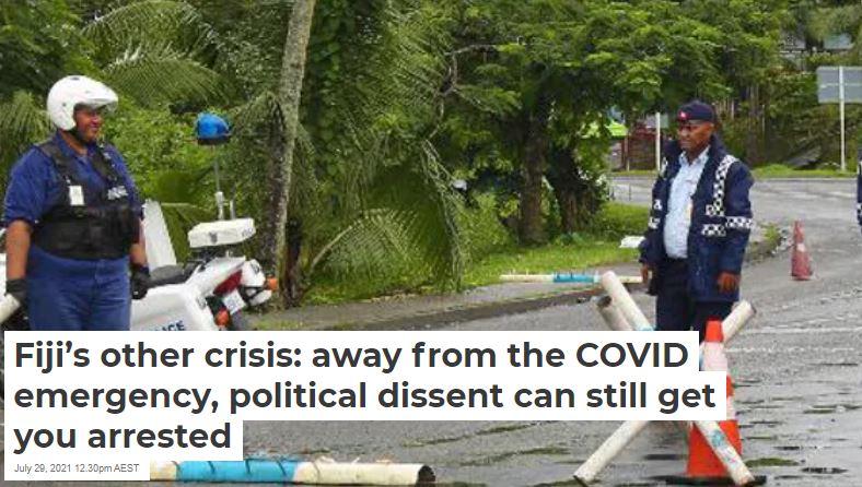 Fiji crisis