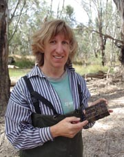 CSU project leader, Associate Professor Robyn Watts.