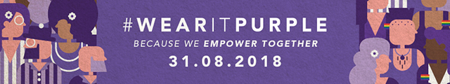 Wear it Purple Day 31 August 2018
