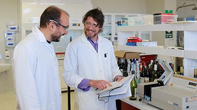 Dr Nik Kodoudakis and Dr Andrew Clark