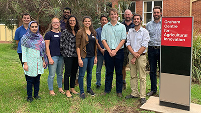 2019 Graham Centre interns and mentors