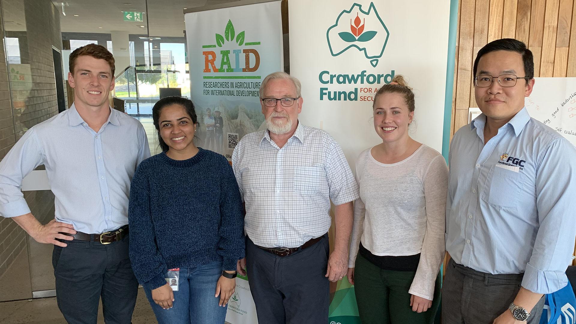 FGC members at the RAID workshop