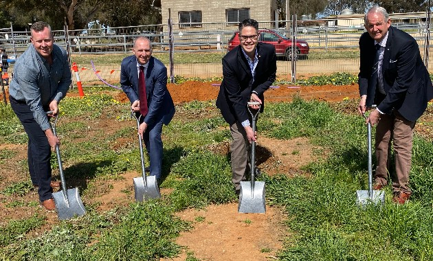 Work starts at Riverina Equestrian Centre Stage Two development at Charles Sturt