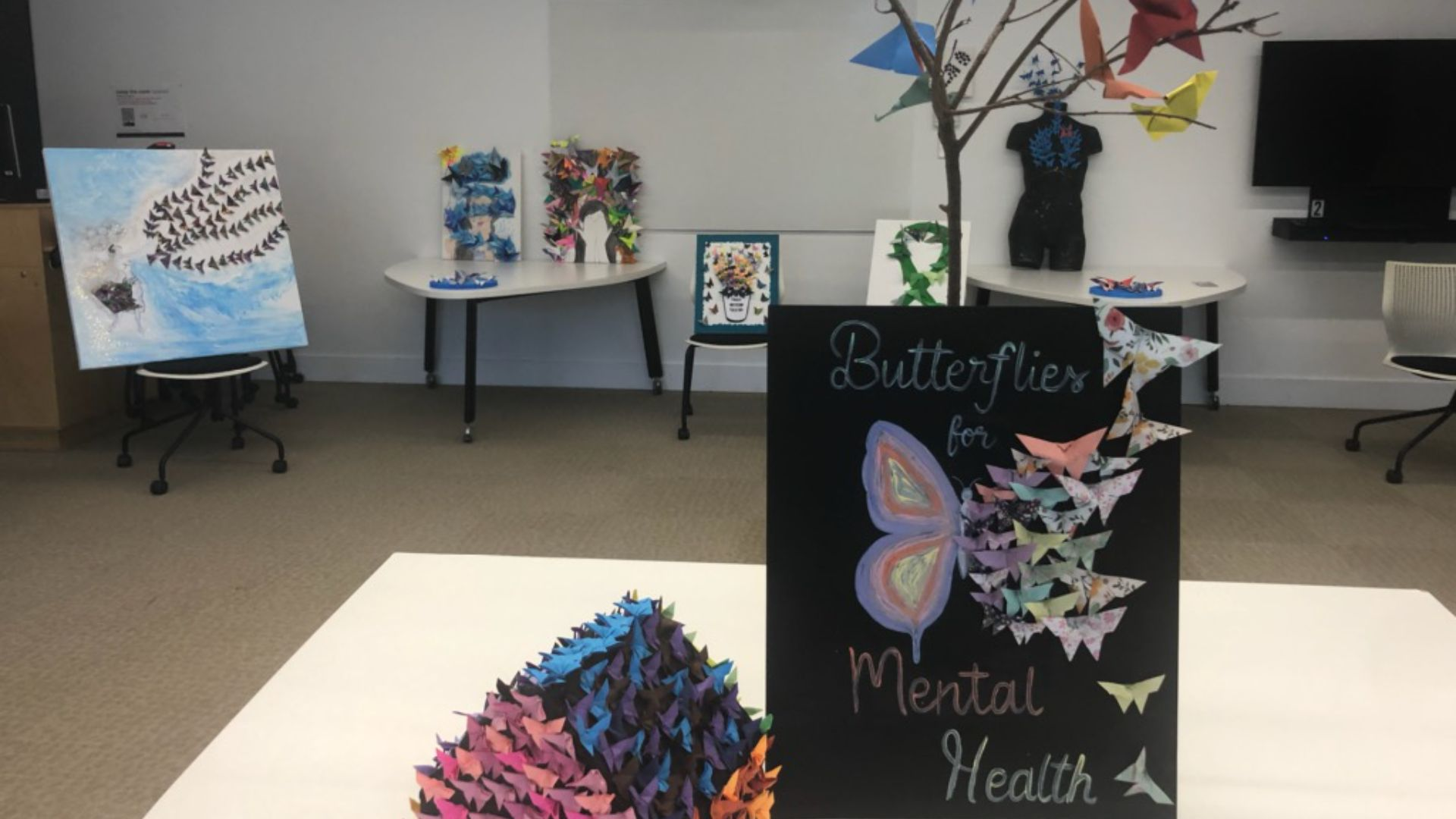 Student-led art exhibition to start conversations about mental health