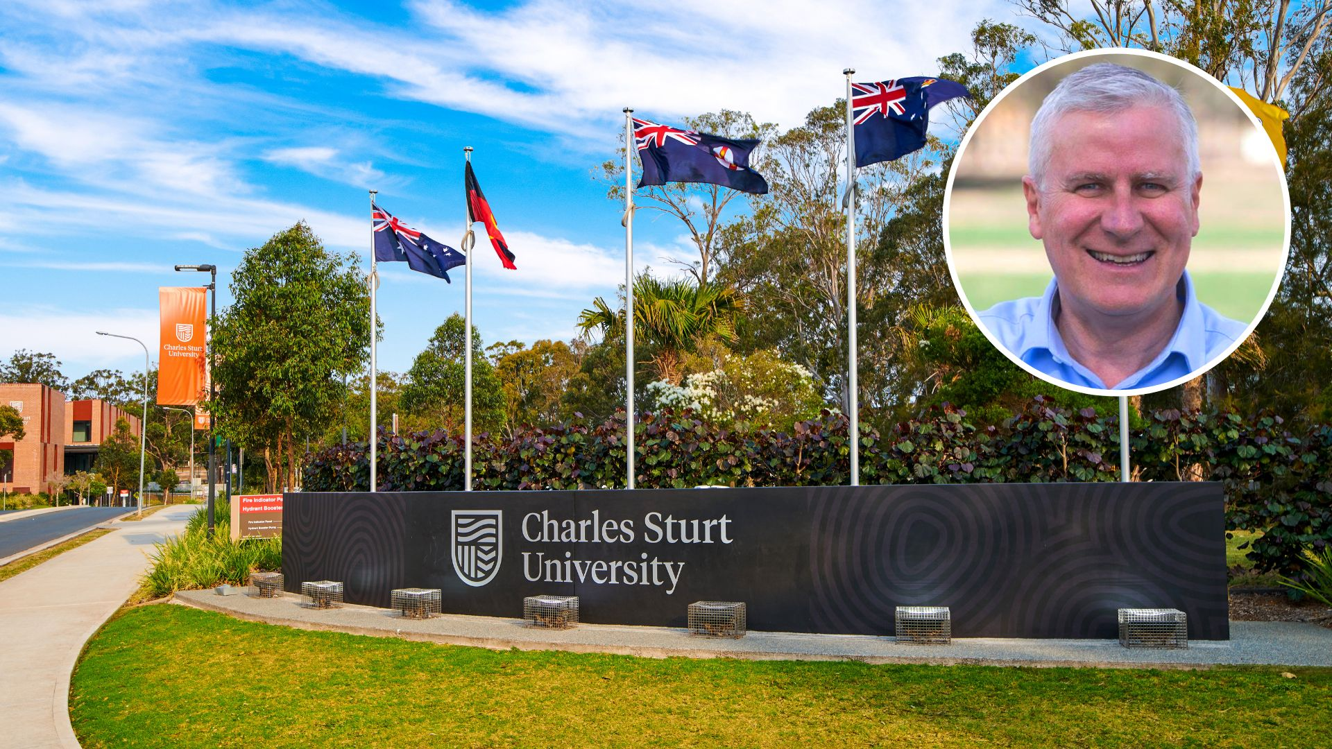 Deputy Prime Minister commends Charles Sturt on topping graduate employment rankings